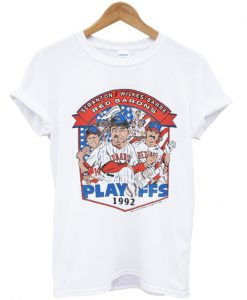 90s Scranton Wilkes Barre Red Barons MILB Playoffs t-shirt