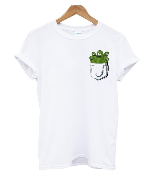 0d4f9024a Pickle Rick And Morty Pocket T Shirt - marveloushirt