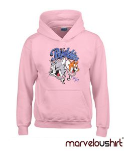 Tom And Jerry pink Hoodie