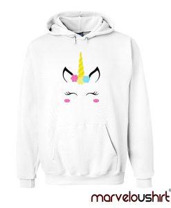 Unicorn Face Hoodie Marveloushirt