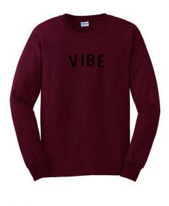 VIBE Red Sweatshirt