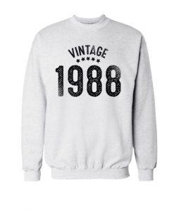 Vintage 1988 Sweatshirt