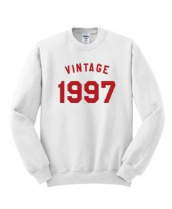 Vintage 1997 Sweathshirt