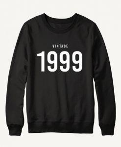 Vintage 1999 Black Sweatshirt