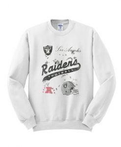 Vintage 90s Los Angeles Raiders NFL Sweatshirt