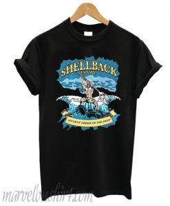 Shellback Us navy ancient order of the deep T-shirt