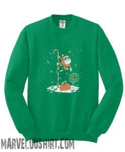 Santa North Pole Dancing Sweatshirt