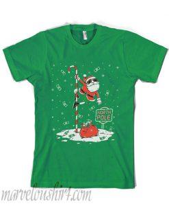 Santa North Pole Dancing T-Shirt