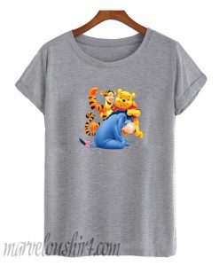 Winnie the Pooh Eeyore and Tiger T Shirt