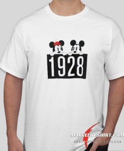 1928 Mickey and Minnie Mouse comfort T-Shirt