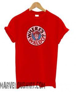 Wheres Waldo – Mens Waldo Logo comfort T shirt