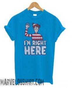 Wheres Waldo – Youth Im Right Here comfort T shirt