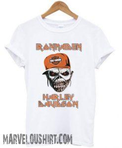 Iron Maiden Harley Davidson skull comfort T Shirt