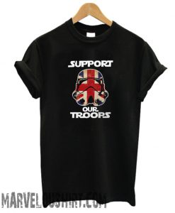 Star Wars T-Shirt Support Our Troops Stormtrooper Black comfort T-Shirt