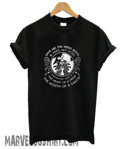 Starbucks give me the weed boys and free my soul comfort T-shirt