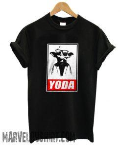 Stars Wars Yoda Obey Joke Black comfort T-Shirt