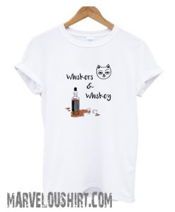 Whiskers & Whiskey Graphic comfort T shirt