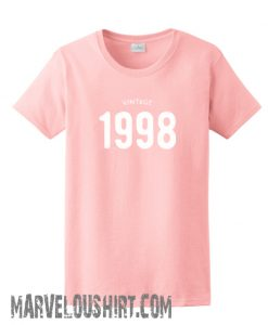 1998 birthday comfort t-shirt