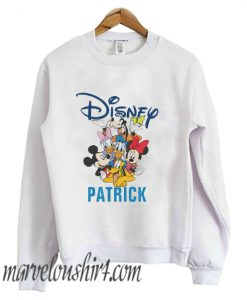 2 Sided Mickey & Friends - Family Vacation comfort Sweatshirt
