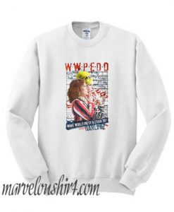 Absolutely Fabulous AbFab What Would Patsy and Edina Do Darling WWPEDD comfort Sweatshirt