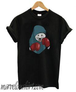 Samoyed Boxing Face Combat Sport Funny Dog Lover comfort T-Shirt