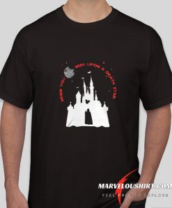 Darth Vader Mickey When You Wish Upon A Death Star comfort T-shirt