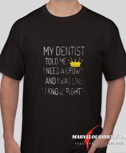 Destinst Crown King comfort T Shirt