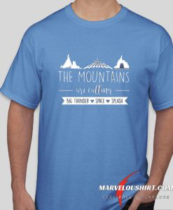 Disney The Mountains Are Calling fashionable comfort T-Shirt