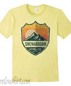 Shenandoah National Park comfort T-Shirt Hiking Virginia Wanderlust