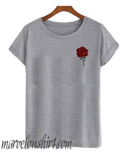 Rose Pocket comfort T SHirt