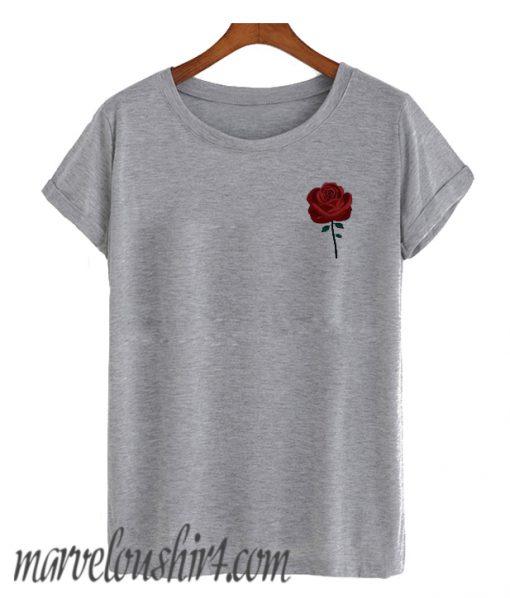 Rose Pocket comfort T SHirt