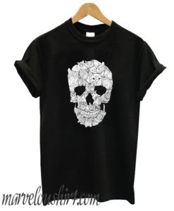 Sketchy Cat Skull comfort T SHirt