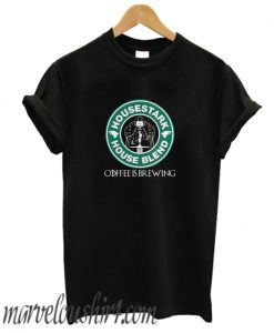 Starbucks house Stark house Blend coffee is brewing comfort T-shirt