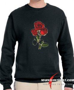 3 red rose comfort Sweatshirt