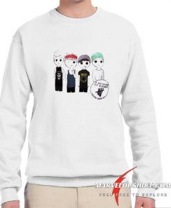 5 seconds of summer shirt comfort Sweatshirt