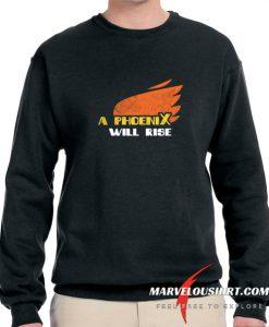 A Phoenix Will Rise comfort Sweatshirt