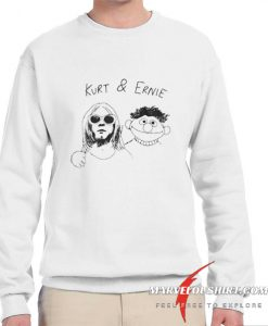 Kurt Cobain And Ernie comfort Sweatshirt