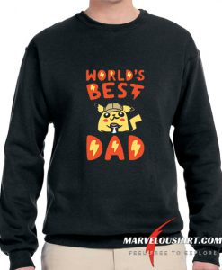 WORLD'S BEST DAD comfort Sweatshirt