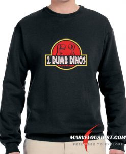 2 DUMB DINOS MEN'S comfort Sweatshirt