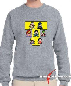 8-Bit NEW TEEN TITANS comfort Sweatshirt