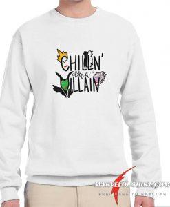 Girls Chillin Like A Villain comfort Sweatshirt