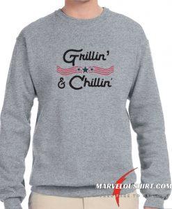 Grillin And Chillin comfort Sweatshirt