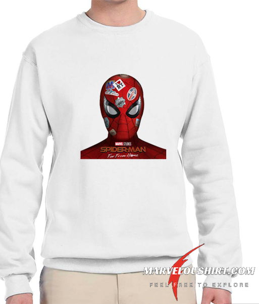Spider-man far from home comfort Sweatshirt
