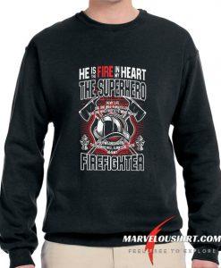 Super Hero Firefighter comfort Sweatshirt