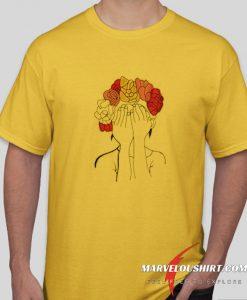 Flower Head comfort T Shirt