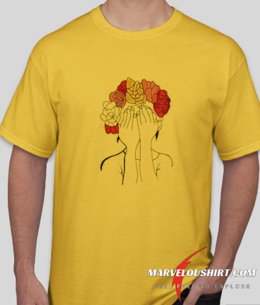 Flower Head comfort T Shirt
