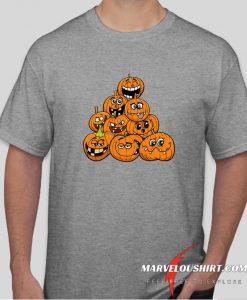 Halloween Pumpkin comfort T Shirt