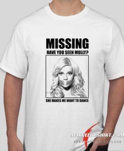 Missing Molly T-shirt MDMA comfort T-Shirt