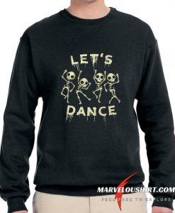 Skeleton Halloween comfort Sweatshirt