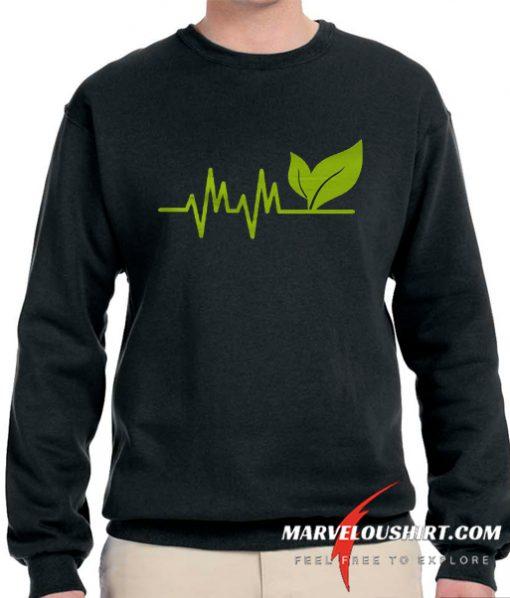 Vegan Heartbeat comfort Sweatshirt